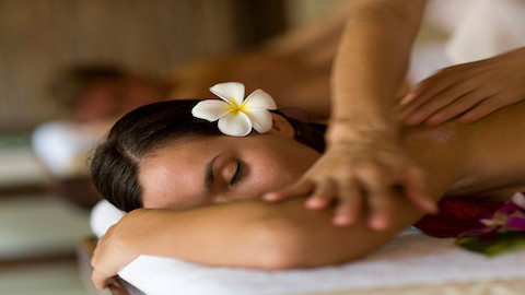 Orchid-inspired treatment at our Spa