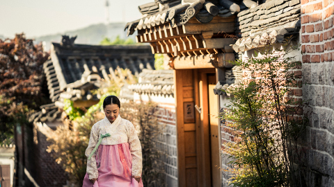 Stroll Through Bukchon Hanok Village