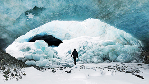 Ice Cave Exploration
