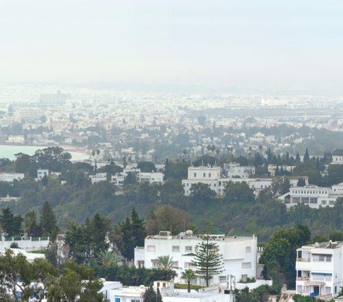 Tunis cityscape