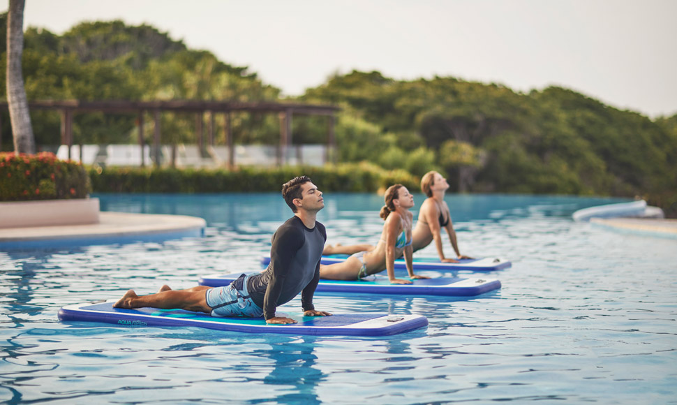 FS Punta Mita pool yoga