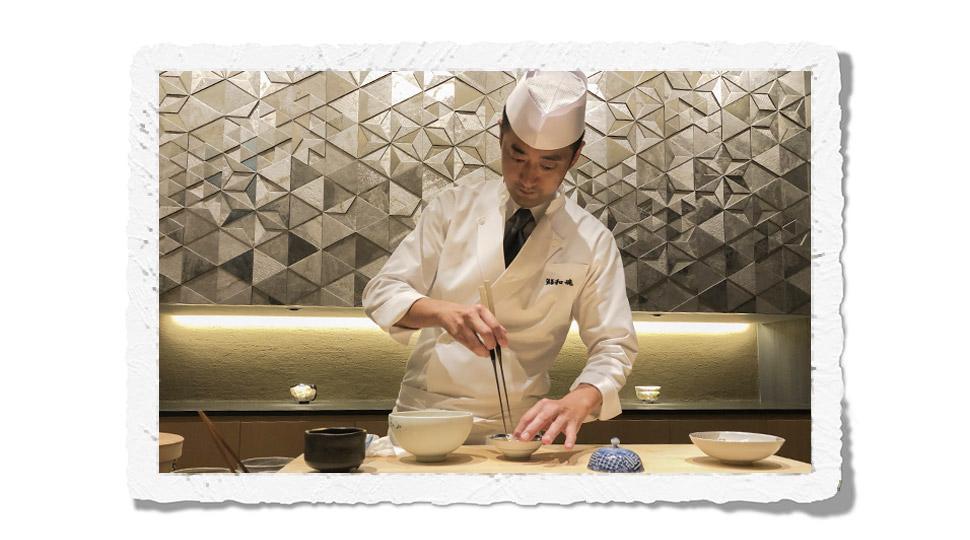 Kyoto sushi chef