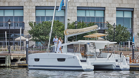 Charter a boat to sightsee the Inner Harbor