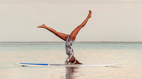 Stand-Up Paddleboard High Intensity Interval Training