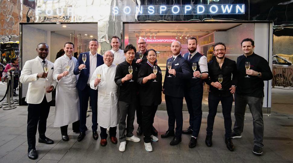 Hong Kong Pop Down Fs Team