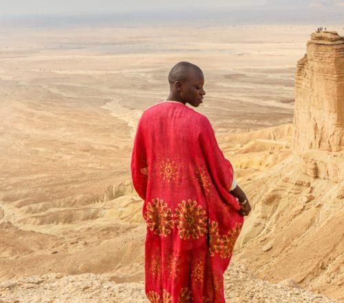Jessica Nabongo in Saudi Arabia