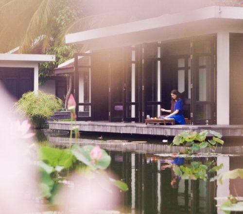 Missy Dunaway at Four Seasons Resort The Nam Hai in Hoi An