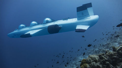 Deepflight Submarine