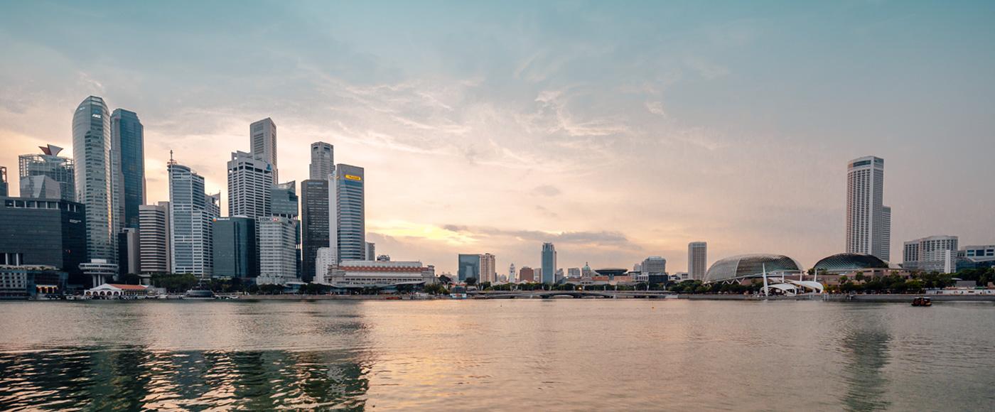 Eric Gordon Singapore Banner City