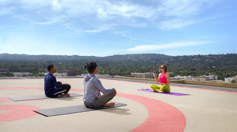Hollywood Staycation Yoga Alt