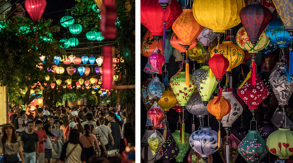 Festival lights and lanterns