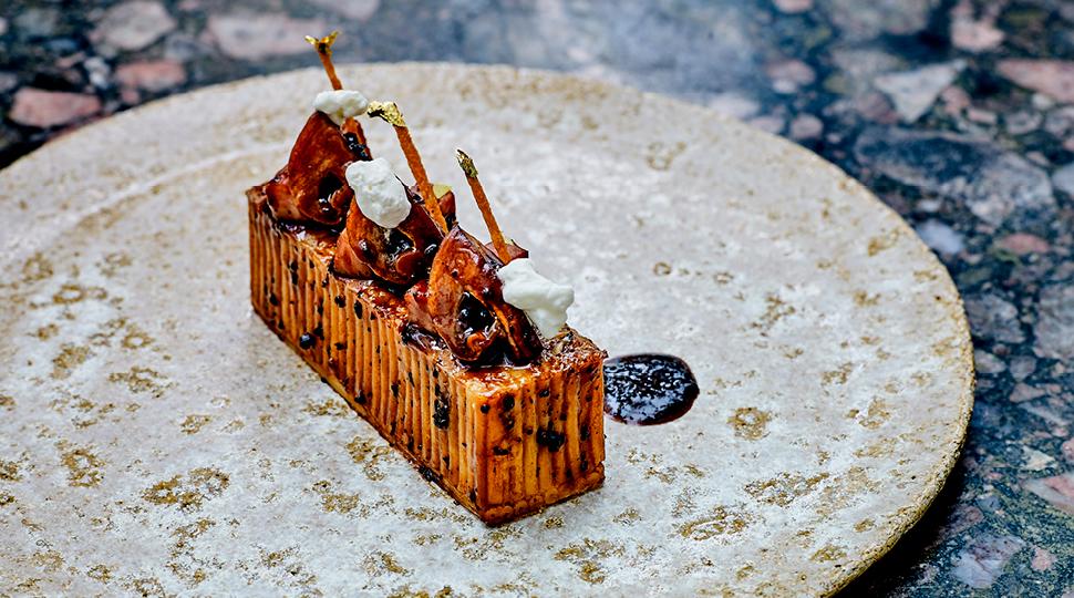 Ceps Truffle Ham Pasta