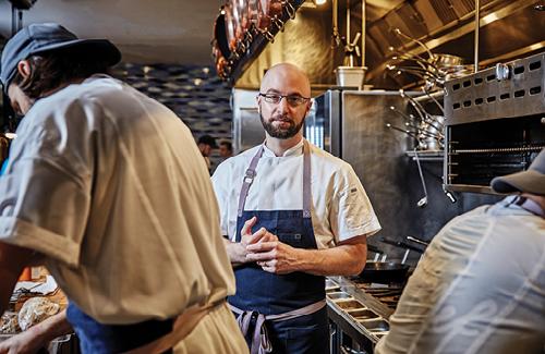 Chef Vernick Portrait