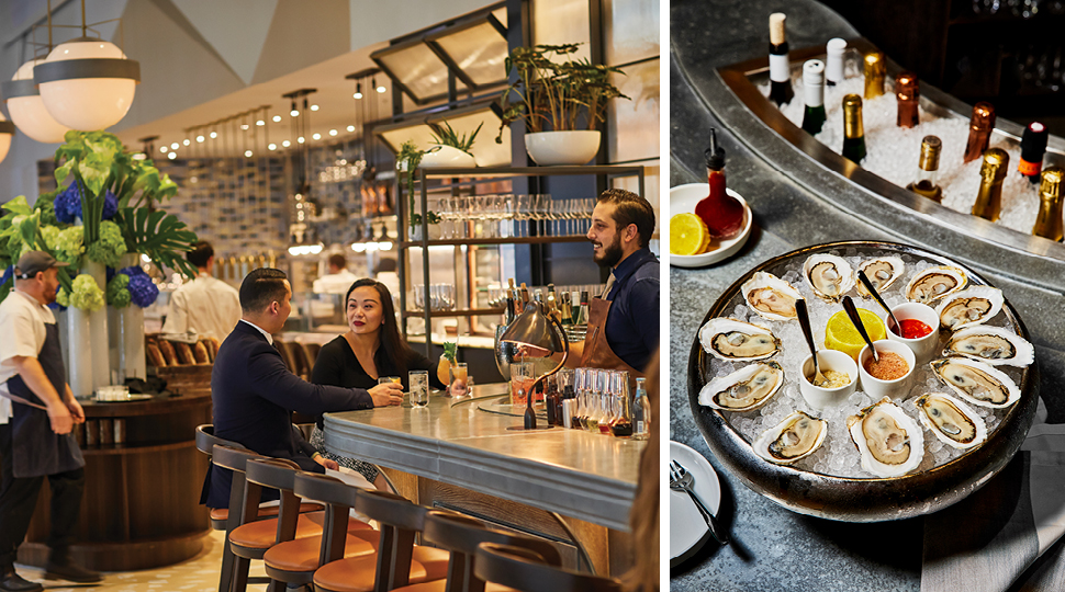 Diners And Oysters At Vernick