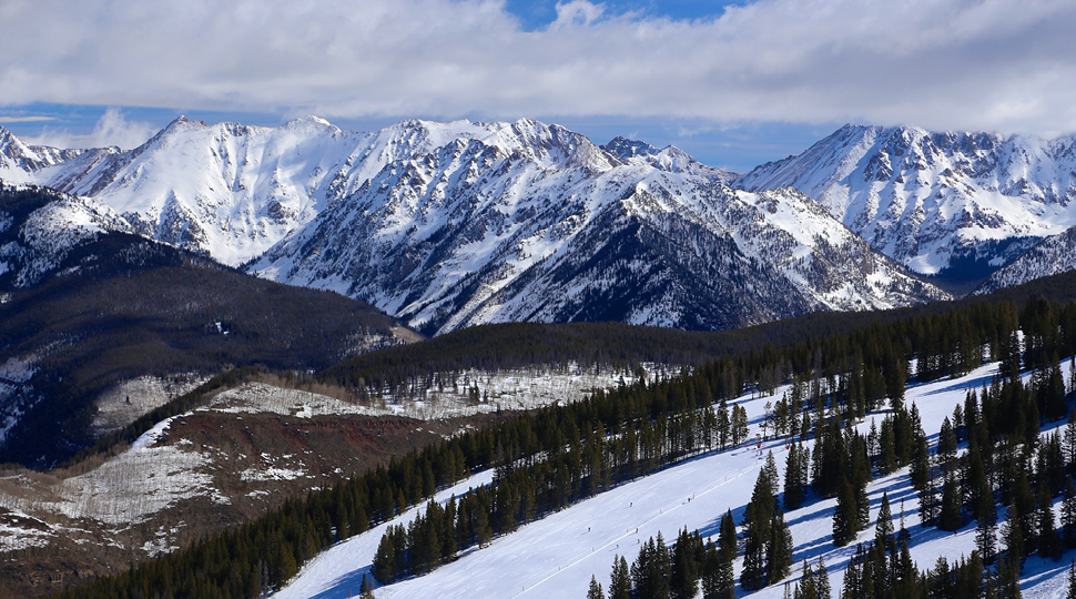 Vail Mountains With Rockies