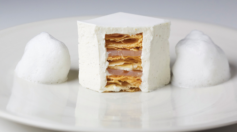 White Millefeuille