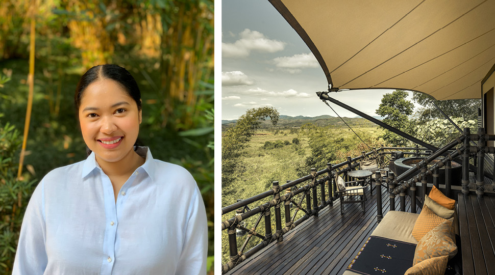 Naipaporn Panlamoke Assistant Camp Manager, Four Seasons Tented Camp Golden Triangle, Thailand