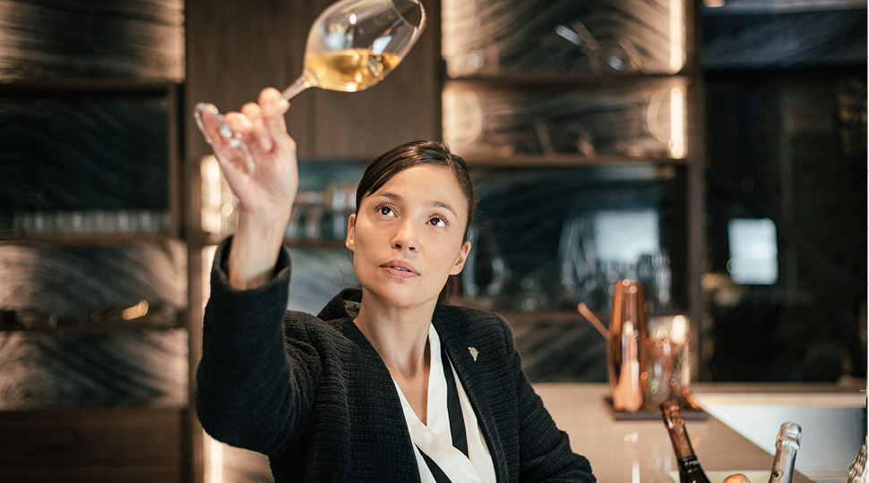Gabriela Marques Sommelier at Four Seasons Hotel Ritz Lisbon